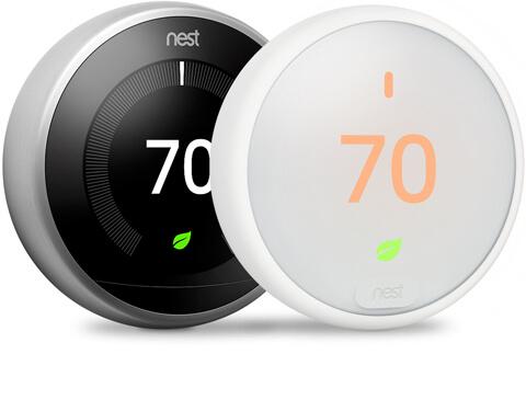 Trane & Nest Programmable Home Thermostats